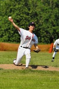 Shimono pitching