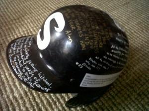 Supersize helmet